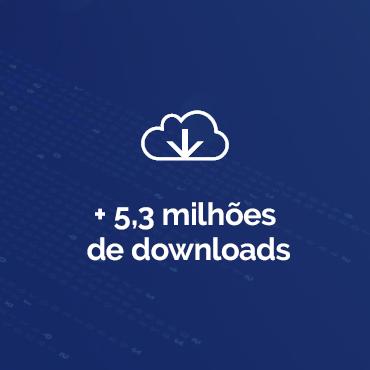 + 5,3 milhões de downloads